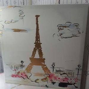 Colleen Karis Designs Paris Canvas Wall art 16×16